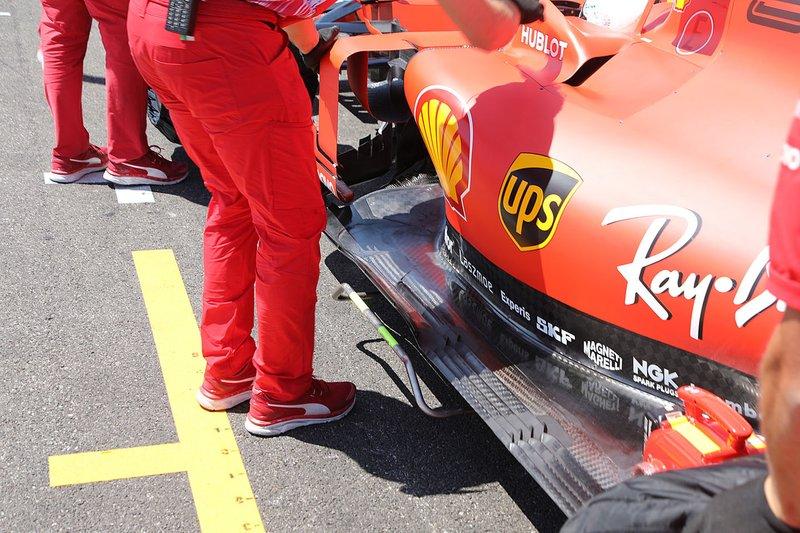 Detalle del piso Ferrari SF90