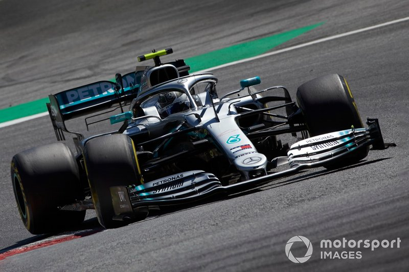 3: Valtteri Bottas, Mercedes AMG W10, 1'03.537