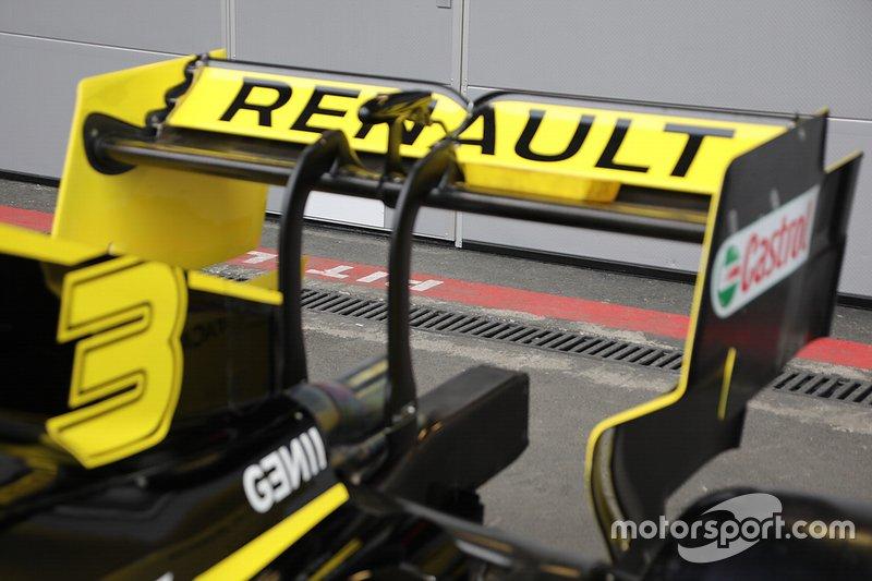 Detalle técnico del equipo Renault F1 Team