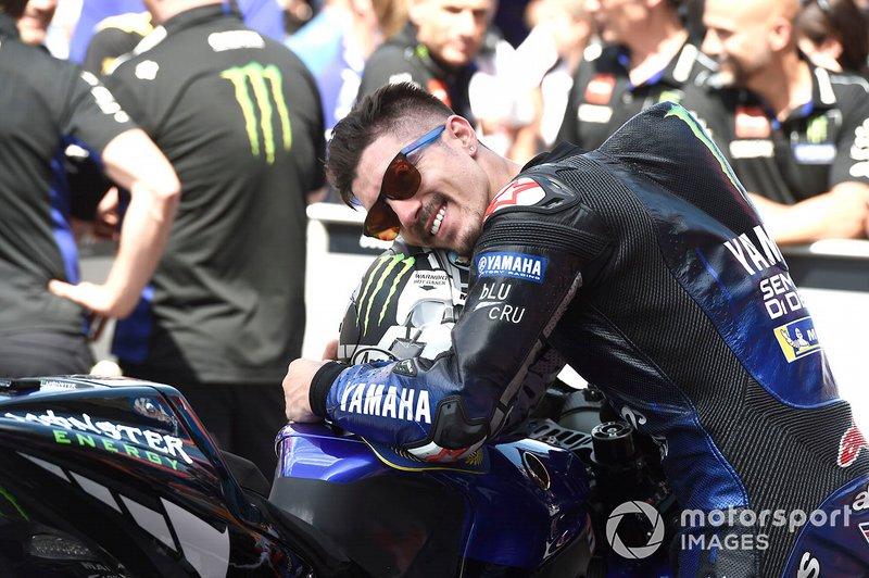 El ganador: Maverick Vinales, Yamaha Factory Racing