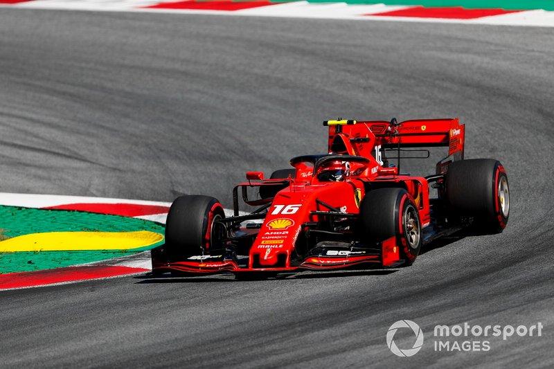 Avusturya: Charles Leclerc, Ferrari