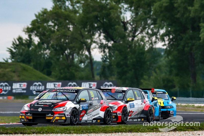 Benjamin Leuchter, SLR Volkswagen Volkswagen Golf GTI TCR, Rob Huff, SLR VW Motorsport Volkswagen Golf GTI TCR