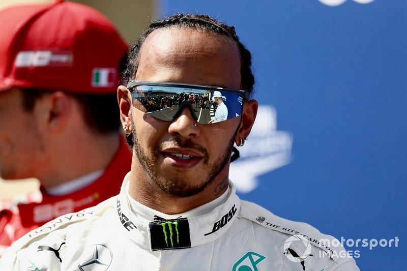 Pole starter Lewis Hamilton, Mercedes AMG F1
