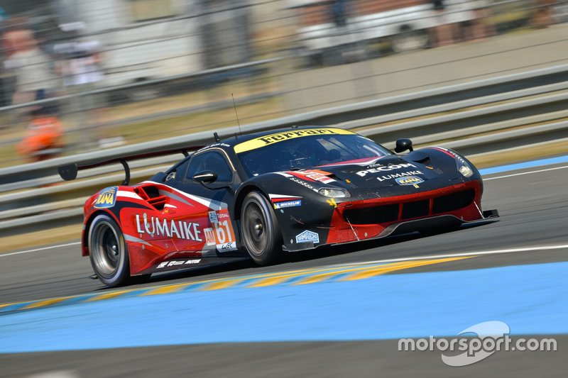 GTE-Am: #61 Clearwater Racing, Ferrari 488 GTE