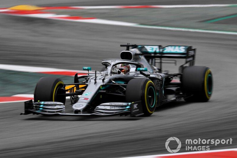 Barcelona: Lewis Hamilton (Mercedes)