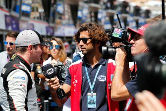 Oliver Rowland, Nissan e.Dams being interviewed