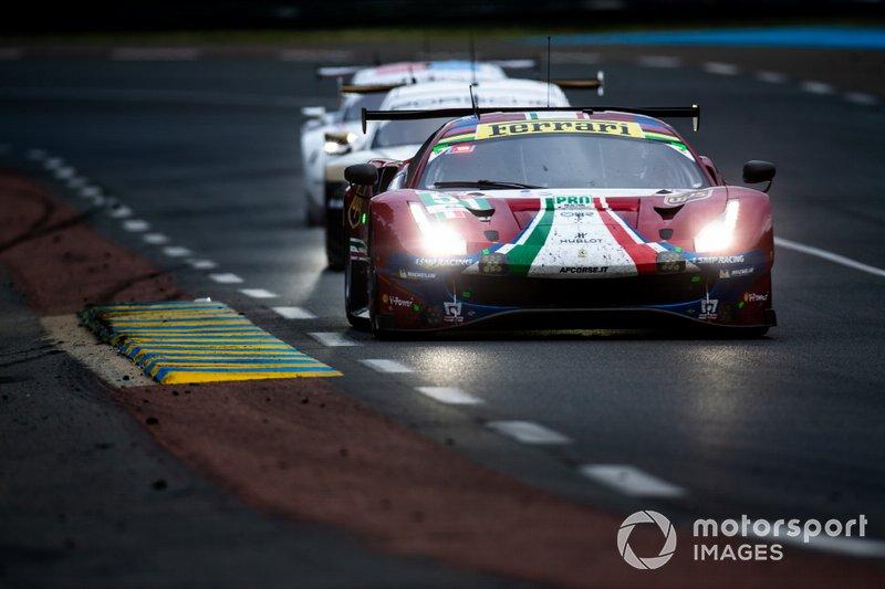 #51 AF Corse, Ferrari 488 GTE: Jamas Calado, Alessandro Pier Guidi, Daniel Serra