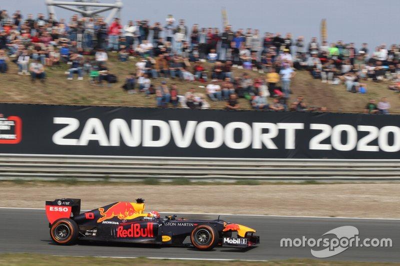 Pierre Gasly, Red Bull Racing RB7, à Zandvoort