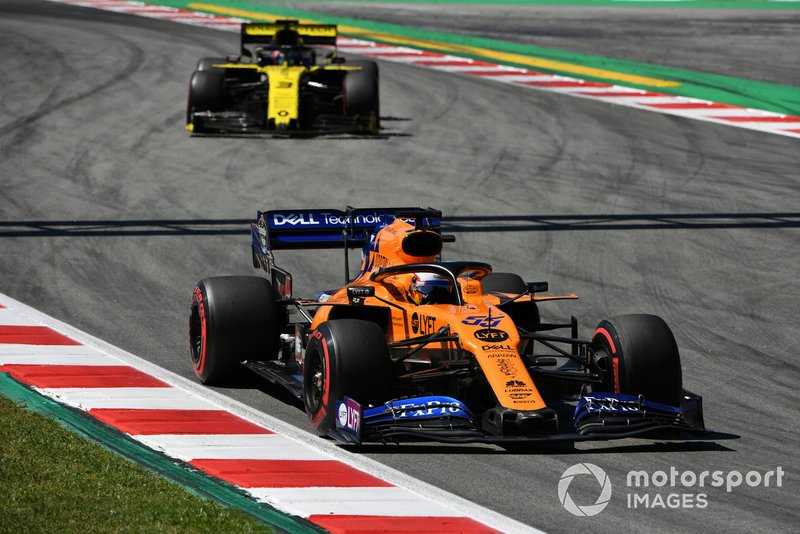 Карлос Сайнс-мол., McLaren MCL34, Даніель Ріккардо, Renault R.S.19