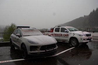 Il neige à Spa