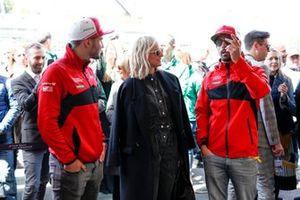 Actress Diane Kruger, Daniel Abt, Audi Sport ABT Schaeffler, Audi e-tron FE05, Lucas Di Grassi, Audi Sport ABT Schaeffler