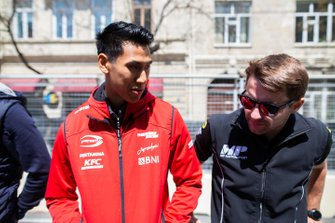 Sean Gelael, PREMA RACING en Jordan King, MP MOTORSPORT