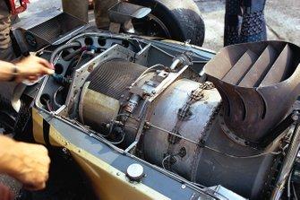 The Pratt & Whitney gas turbine engine, Lotus 56B