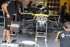 La parte delantera del Renault R.S. 19