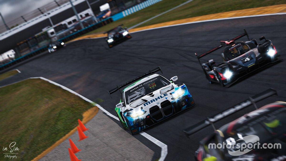 Williams Esports en Daytona