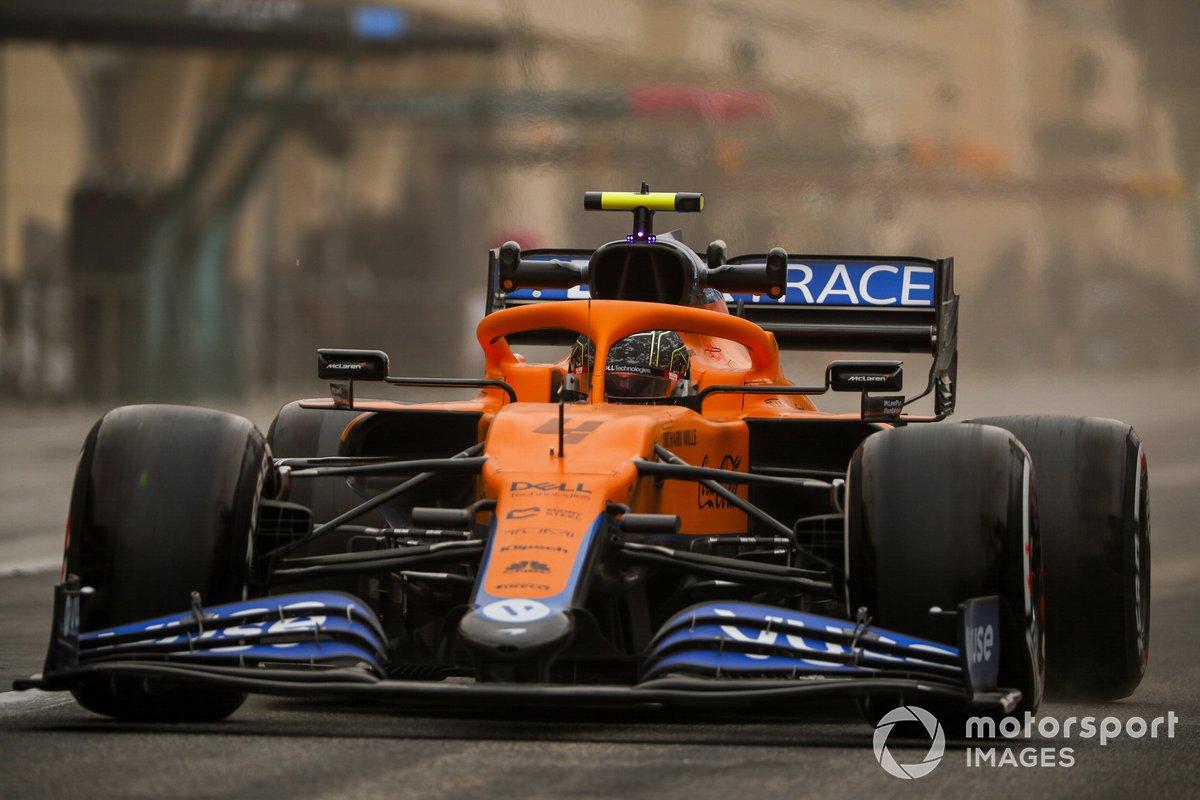 16. Lando Norris, McLaren MCL35M: 154 vueltas (833,448 km)