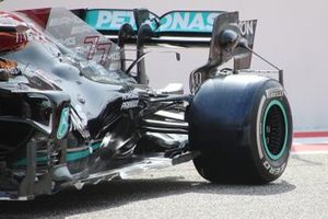 Mercedes F1 W12 floor detail