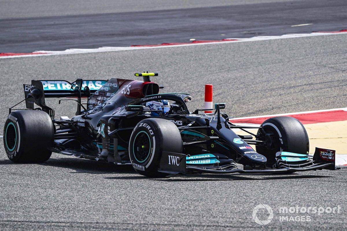 10º Valtteri Bottas, Mercedes W12, 1:30.289 (con neumáticos C5)