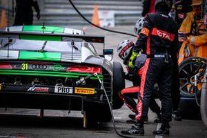 #31 Team WRT Audi R8 LMS GT3: Kelvin van der Linde, Rolf Ineichen, Mirko Bortolotti