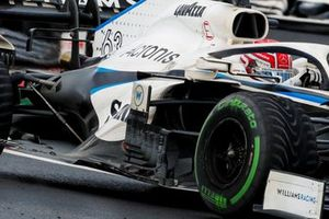 Williams FW43 sidepods detail