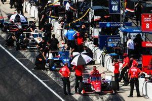 Marcus Ericsson, Chip Ganassi Racing Honda, Tony Kanaan, Chip Ganassi Racing Honda