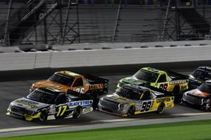 David Gilliland, David Gilliland Racing, Ford F-150 Black's Tire, Grant Enfinger, ThorSport Racing, Toyota Tundra Champion/Curb Records