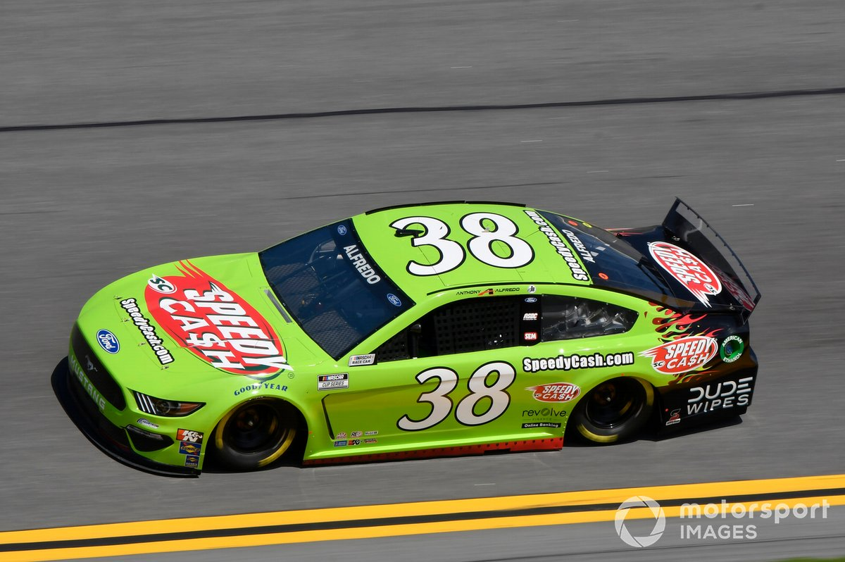 #38: Anthony Alfredo, Front Row Motorsports, Ford Mustang