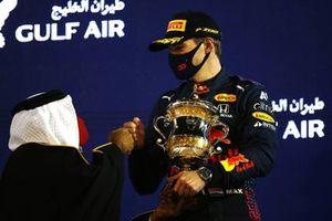 Макс Ферстаппен, Red Bull Racing, второе место, на подиуме