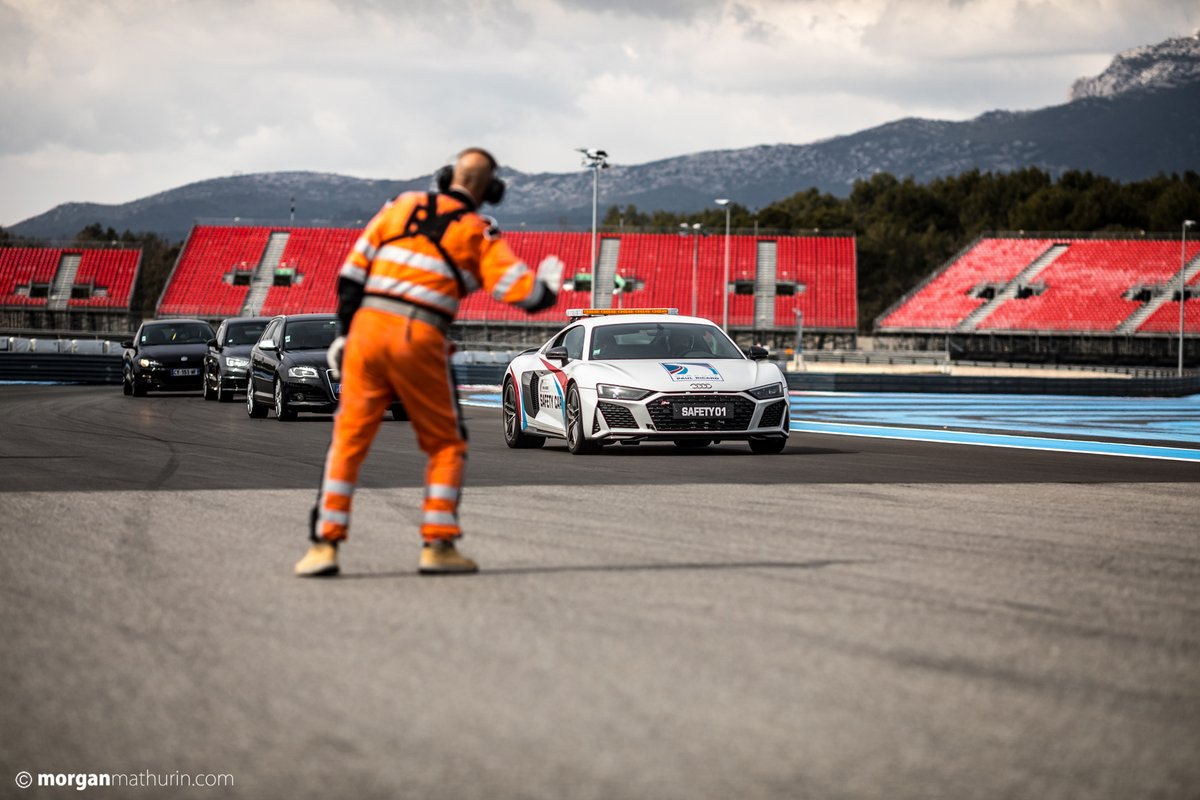 Equipes de segurança do circuito Paul Ricard