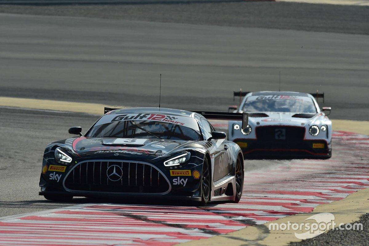 #3 Ram Racing, Mercedes-AMG GT3: John Loggie, Chris Froggatt, Callum MacLeod