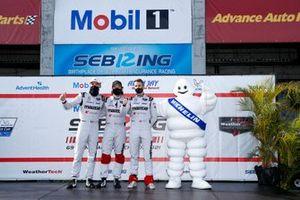 #55 Mazda Motorsports Mazda DPi, DPi: Oliver Jarvis, Harry Tincknell, Jonathan Bomarito, Driver introductions