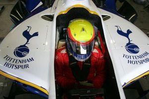 Jimmy Auby, Tottenham Hotspur