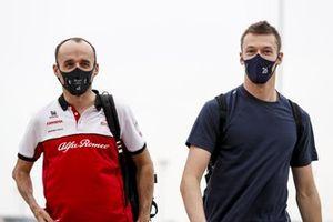 Robert Kubica, Alfa Romeo Test Driver and Daniil Kvyat, AlphaTauri
