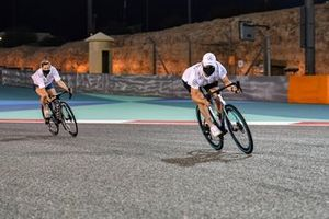 Valtteri Bottas, Mercedes-AMG F1, cycles the track