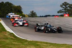 Sebastien Bourdais, A.J. Foyt Enterprises Chevrolet, Takuma Sato, Rahal Letterman Lanigan Racing Honda
