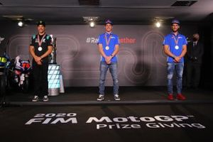 Top 3 der MotoGP-WM 2020: 1. Joan Mir, 2. Franco Morbidelli, 3. Alex Rins