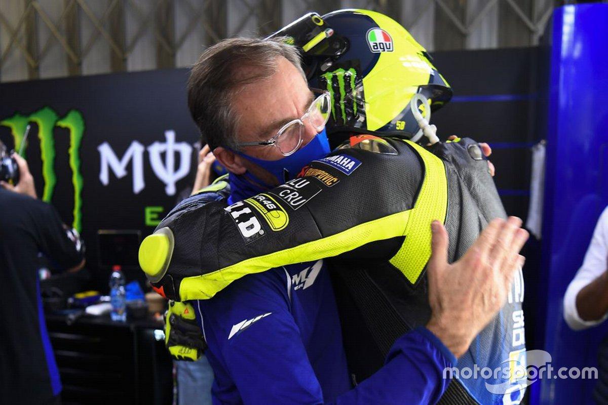 Abschied von Valentino Rossi nach 15 Jahren vom Yamaha-Werksteam