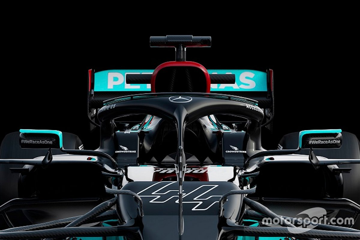 Detalle del Mercedes AMG F1 W12