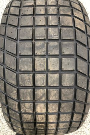 Bias ply tire for Cup Series dirt race at Bristol