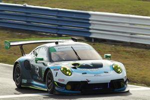 #99 : Team Hardpoint EBM Porsche 911 GT3R, GTD : Rob Ferriol, Earl Bamber, Trenton Estep