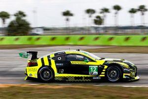 #12 Vasser Sullivan Lexus RC F GT3, GTD: Frankie Montecalvo, Robert Megennis, Zach Veach