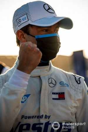 Polesitter Nyck de Vries, Mercedes Benz EQ