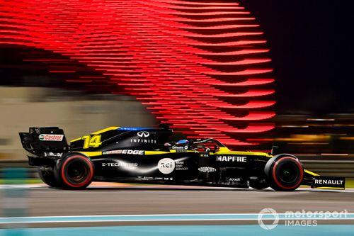 Abu Dhabi test d'après saison