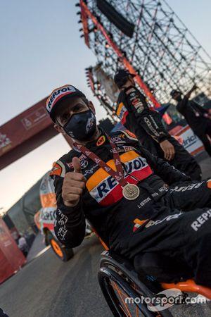 #327 Repsol Rally Team Toyota: Pujol Isidre Esteve