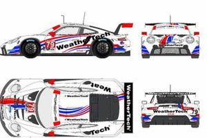 WeatherTech Racing Proton Porsche 911 RSR