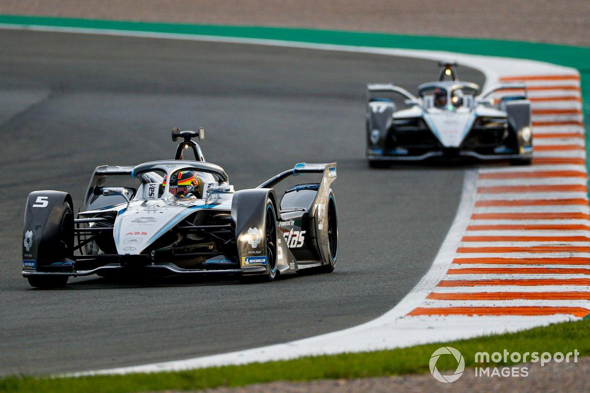 Stoffel Vandoorne, Mercedes-Benz EQ, EQ Silver Arrow 02 Nyck de Vries, Mercedes Benz EQ, EQ Silver Arrow 02