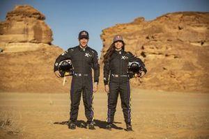 Sebastien Loeb, X44 and Cristina Gutierrez, X44