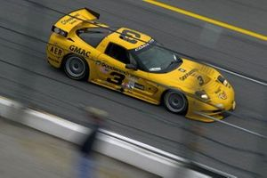 Andy Pilgrim, Dale Earnhardt, Kelly Collins, Dale Earnhardt, Jr., Chevrolet Corvette C5-R