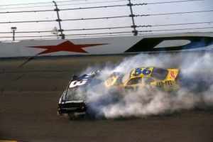Crash: Dale Earnhardt, Richard Childress Racing Chevrolet Monte Carlo