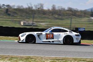 #13 Team Zakspeed: Evgeny Kireev, Sergey Stolyarov, Victor Shaytar, Mercedes-AMG GT3